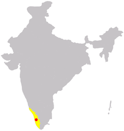 Location of Kochi
