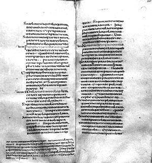Codex Fuldensis - Codex Fuldensis, pages 296-297