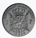 Coin BE 1F Leopold II shield rev NL 25.png