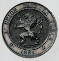 Coin BE 5c Lion obv 20.TIF