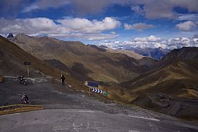 Col du Galibier (view of the northern side) a65ade020