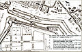 Colegio de San Juan de Letran (Intramuros) today on a map from 1671.jpg