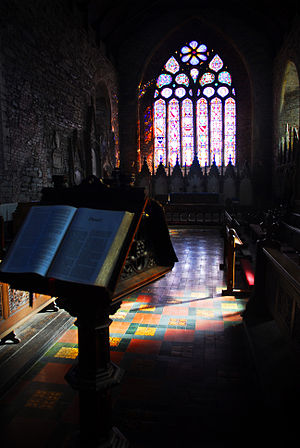 Collegiate Church of St Mary Youghal - Image: Collegiate Church inside 2