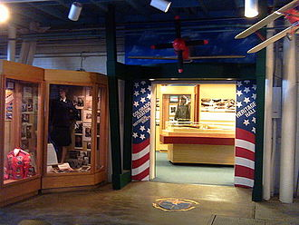 Colorado Aviation Historical Society - Entrance to CAHS' Heritage Hall, Wings Museum, Denver, CO