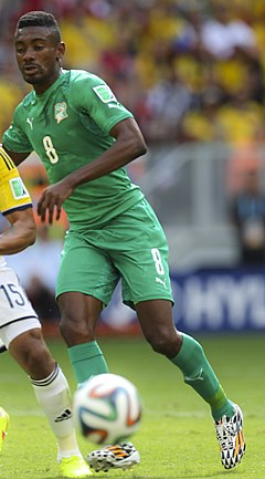 Colombia and Ivory Coast match at the FIFA World Cup 2014-06-19 (18) (cropped).jpg