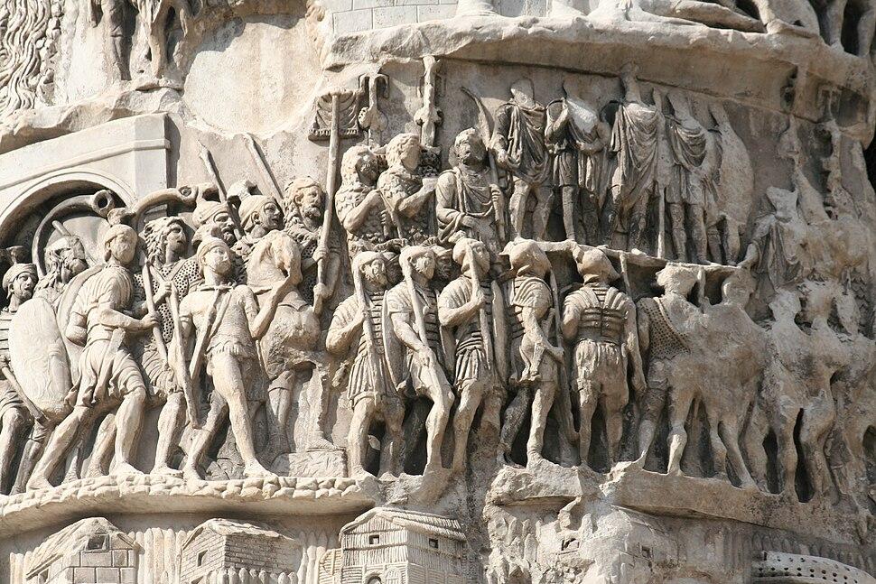 Column of Marcus Aurelius - detail1
