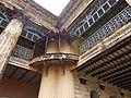 Column of veranda, Puthia Rajbari.jpg