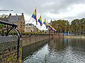 Coming-Out Day 2020 in The Hague - Rainbow flags at Hofvijver next to the national parlement of the Netherlands - img 06.jpg