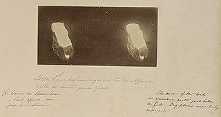 Furna dos morcegos em Paulo Affonso vista de dentro para paŕa