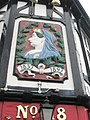 Commemorative sign on The British Queen, Queen's Road - geograph.org.uk - 1996354.jpg