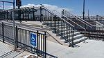 Commuter rail platform ramp, stairs, Peoria Station.jpg