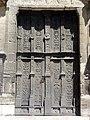 Compiègne (60), église St-Jacques, portail occidental, vantaux Renaissance.jpg
