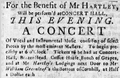 ConcertHall BostonNewsLetter 15January1767.png