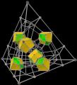 Concertina tesseract; rhombic dodecahedra.png