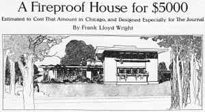 Robert M. Lamp House - Image: Concrete House