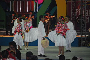Sierra Gorda - Participants in the annual Huapango dance competition in Pinal de Amoles