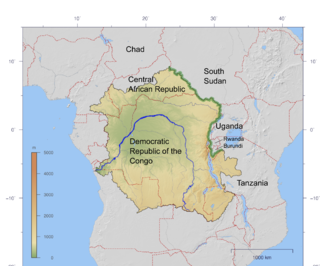 Congo-Nile Divide continental divide that separates the drainage basins of the Nile and Congo rivers