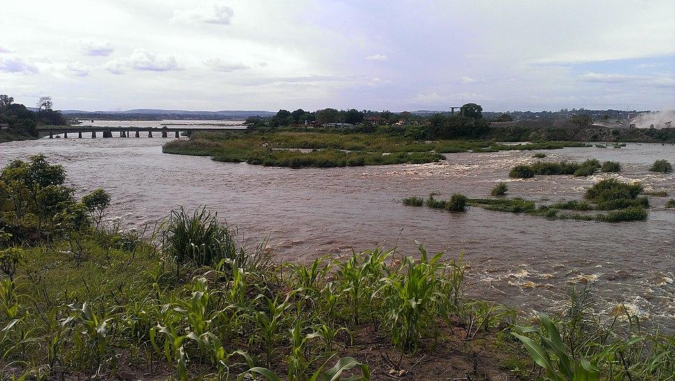 Congo river viewed from Kintambo 1