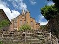 Conques (12) le dos de l'Abbaye Ste-Foy.jpg