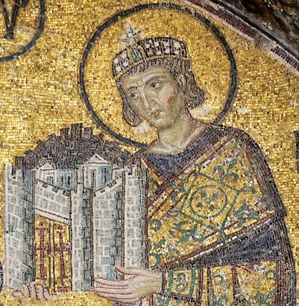 File:Constantine I Hagia Sophia.jpg