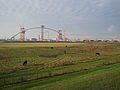 Construction site 'De Oversteek' bridge, Nijmegen Lent, the Netherlands.jpg