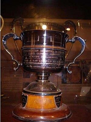 Copa confederaciones argentina de deportes