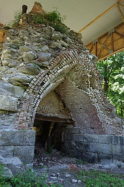 Copake Iron Works Charcoal Blast Furnace.JPG