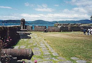 Los Ríos Region - Valdivian Fort System founded by the Spaniards in Corral.