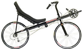 Recumbent bicycle - Bacchetta Corsa, a short-wheelbase high racer