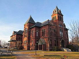 Corthell Hall, University of Southern Maine, Gorham ME.jpg
