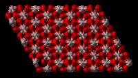 Cấu trúc phân tử của ôxít nhôm