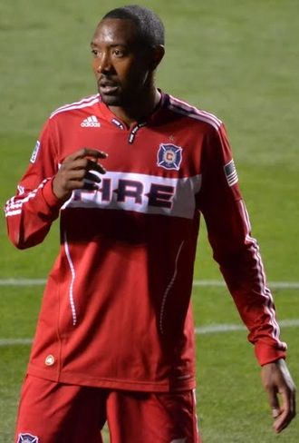 Cory Gibbs - Gibbs playing for Chicago Fire in 2011
