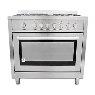 Major appliance - A modern gas stove
