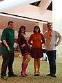 "Cosplay - AWA15 - Norville ""Shaggy"" Rogers, Daphne Blake, Velma Dinkley and Fred ""Freddie"" Jones (3981677511).jpg"