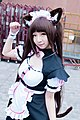 Cosplayer of Chocola, Nekopara at FF29 20170212h.jpg