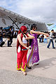 Cosplayers of Erza Scarlet, Fairy Tail and Boa Hancock, One Piece in FF25 20150201.jpg