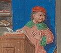 Coudrette et Guillaume VII Larchevêque (Paris, BnF, Français 24383 fol 2)-detail Coudrette2.jpg