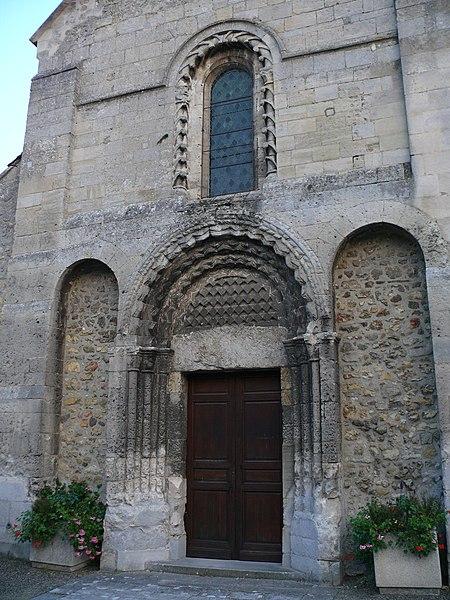Saint-Hilaire's church of Coudun (Oise, Picardie, France).