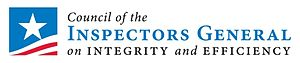 Office of Inspector General (United States) - Council of Inspectors General on Integrity and Efficiency (CIGIE) logo.