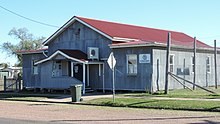 Country Women's Association Hall built in 1928, Leyburn, 2015.JPG