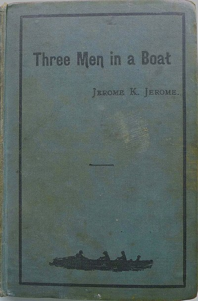Picture of a book: Three Men In A Boat