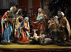 Crèche de Noël — Wikipédia