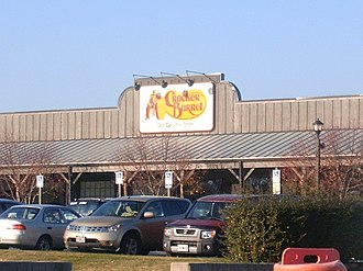 Chain store - A Cracker Barrel chain restaurant
