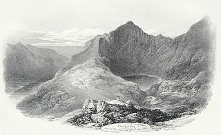 Craig y Caii, one of the summits of Cader Idris