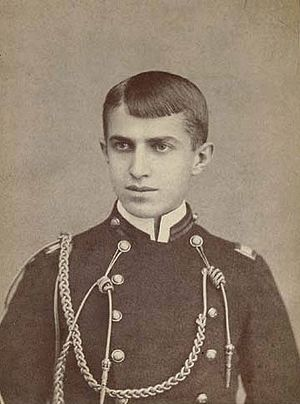 Stephen Crane - Cadet Crane in uniform at the age of 17