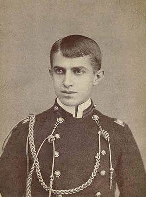 Stephen Crane - Cadet Crane in uniform at the age of 17