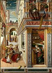 The Annunciation, with Saint Emidius