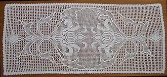Filet crochet - Filet crochet