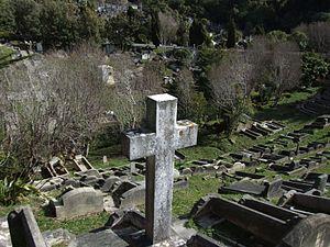 Karori Cemetery - View of Karori Cemetery