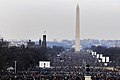 Crowd at National Mall for Obama inauguration 1-20-09 hires 090120-F-6184M-007a.jpg